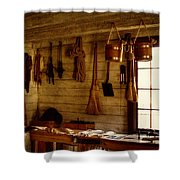 Trapper Supplies At The General Store Shower Curtain