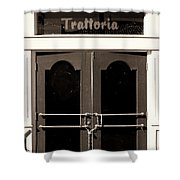 Trattoria Door Palm Springs Shower Curtain