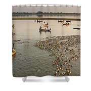 Travel Images Of Burma Shower Curtain