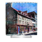 Travel Series 05 Shower Curtain