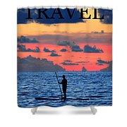 Travel Work One Shower Curtain