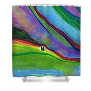 Travelers Foothills By Jrr Shower Curtain