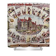 Traveling Salesmen Of America  Shower Curtain
