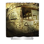 Traveling Through Time Shower Curtain