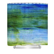 Traveling West Shower Curtain by Linda Woods