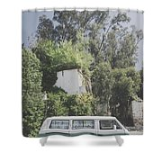 Travelling Vintage Wander Wolkswagen.  Shower Curtain