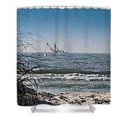 Trawler Shower Curtain