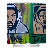 Trayvon Martin Shower Curtain