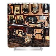 Treadle Sewing Machines Shower Curtain