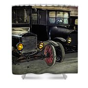 Treads Of Time Shower Curtain