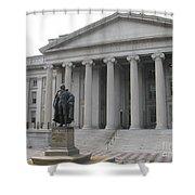 Treasury Department Washington Dc Shower Curtain