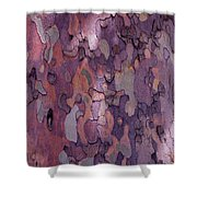 Tree Abstract Shower Curtain