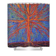 Tree As It Is Shower Curtain