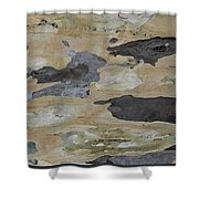 Tree Bark II Shower Curtain