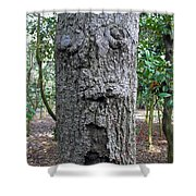Tree Beard Shower Curtain