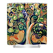 Tree Candy 2 Shower Curtain