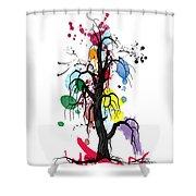 Tree Shower Curtain by Mark Ashkenazi