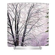 Tree Memories Shower Curtain