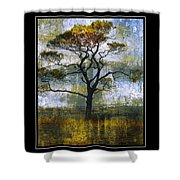 Tree Of Colours Shower Curtain