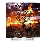 Tree Of Death Shower Curtain