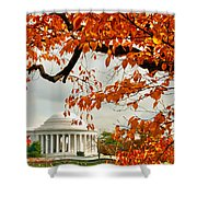 Tree Of Liberty Shower Curtain