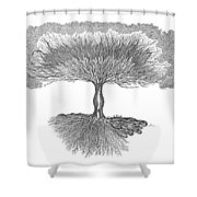 Tree Of Living Shower Curtain