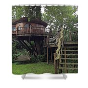 Tree Penthouse Shower Curtain