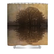 Tree Reflections II Shower Curtain