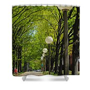 Tree Ride Shower Curtain