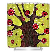 Tree Sentry Shower Curtain