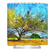 Tree Series 64 Shower Curtain