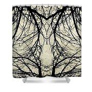 Tree Veins Shower Curtain