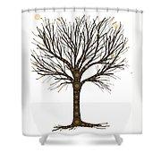 Treedom Shower Curtain