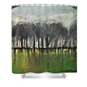 Treeline Shower Curtain