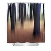 Trees #3 Shower Curtain
