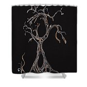 Trees 4 Shower Curtain