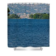 Trees And Islands Shower Curtain