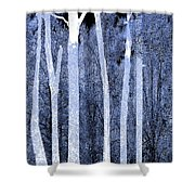Trees Square Shower Curtain