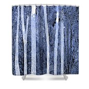 Trees Vertical Shower Curtain