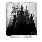 Trees Vi  Shower Curtain