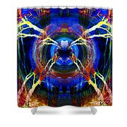 Treescape Abstract II Shower Curtain