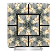 Treescape Feather Page Shower Curtain