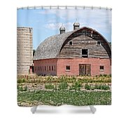 Tremonton Barn Shower Curtain