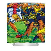 Trench Warfare Color Shower Curtain