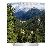 Trentino - Val Duron Shower Curtain