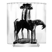 Tres Amigos Shower Curtain
