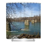 Trestle Of The Past Shower Curtain
