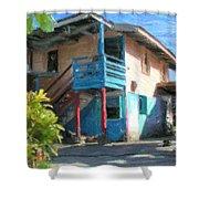 Trevas House Shower Curtain