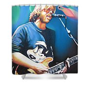 Trey Anastasio And Lights Shower Curtain