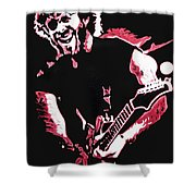 Trey Anastasio In Pink Shower Curtain
